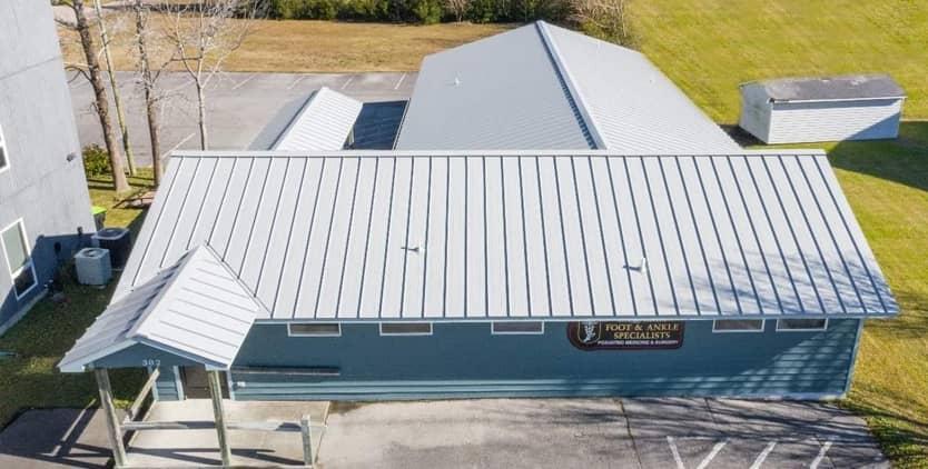 roof repair nc banner image