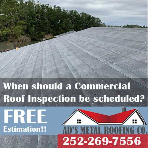 Commercial roof inspection NC