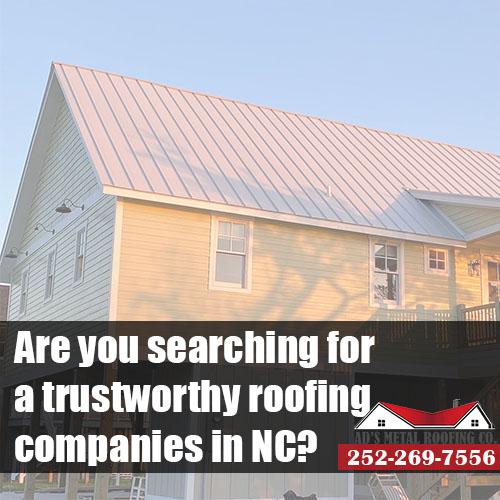 roofing companies NC