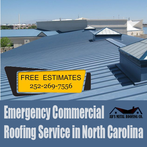 Emergency Commercial Roofing Service in North Carolina