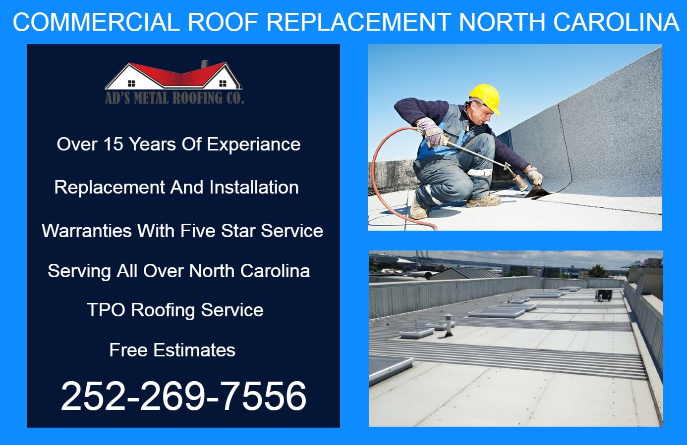Commercil Roofing NC